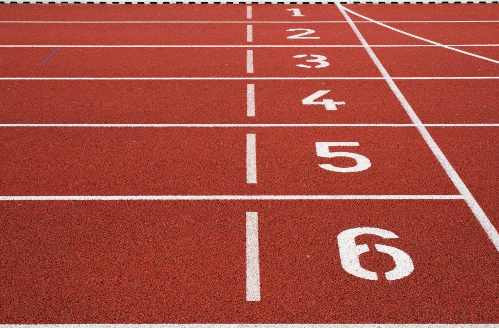 Meedoen aan een hardloopwedstrijd